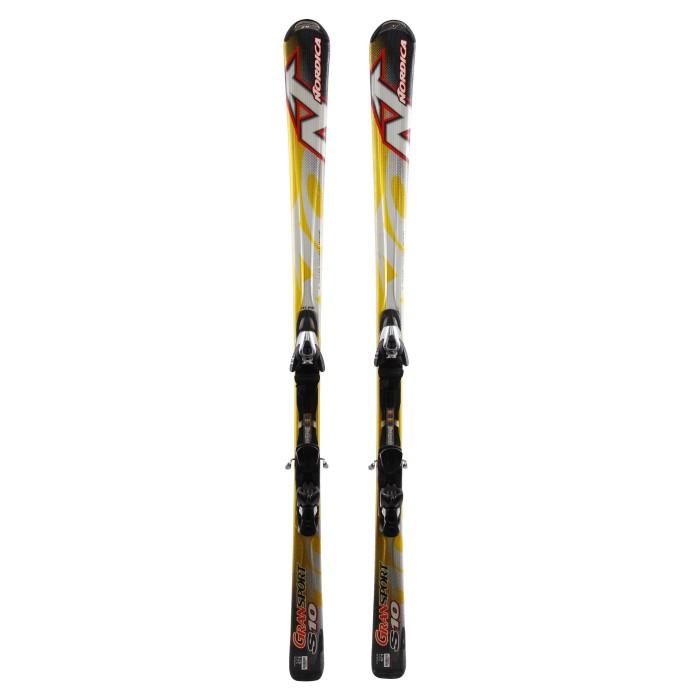 Ski occasion Nordica Gransport s10 - bindings