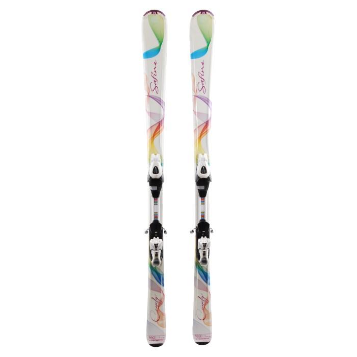 Ski occasion Tecnopro Safine Candy + fixations