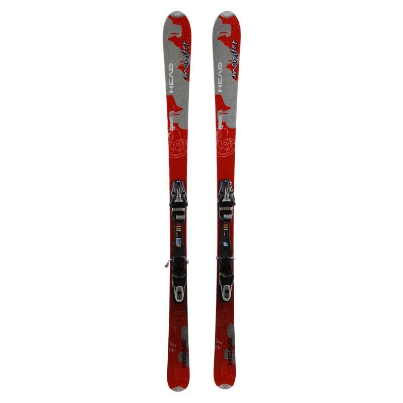Ski occasion Head Monster 78 qualité A + Fixation
