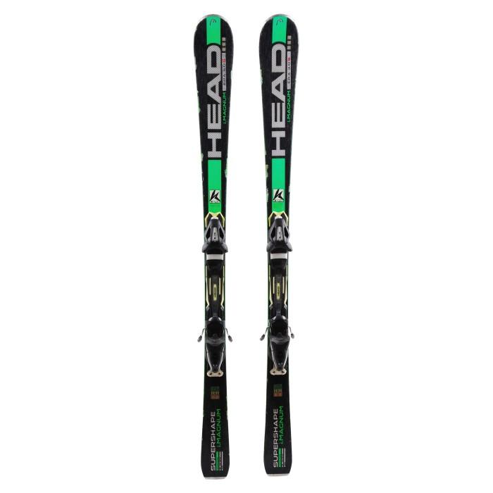 Ski occasion Head i Supershape Magnum + fixations