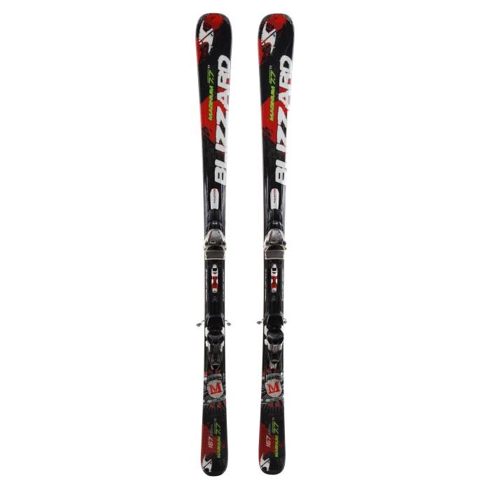 Ski occasion Blizzard Magnum 7.7 TI + fixation