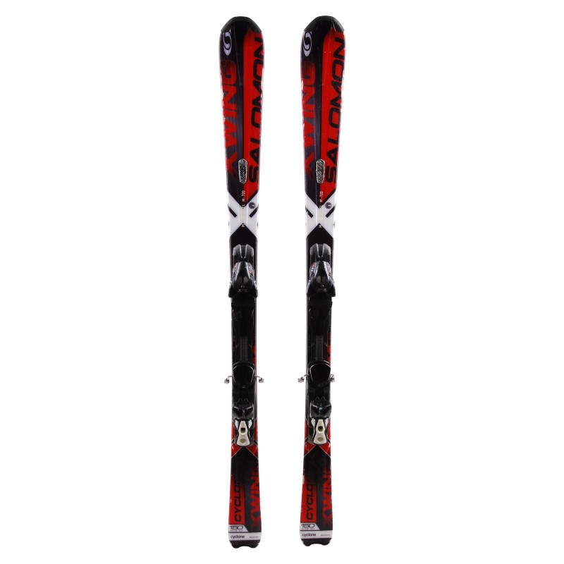 Salomon Wing Ski X occasion cyclonefixations uKlF13TJc