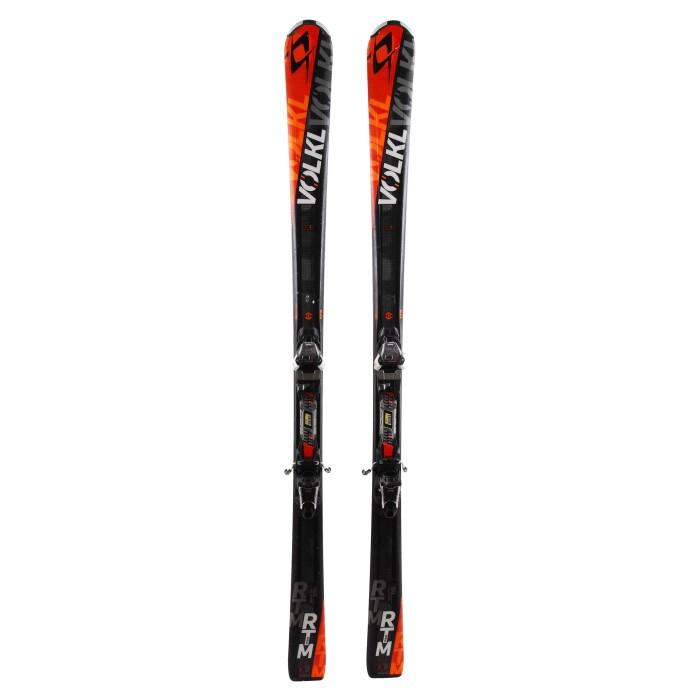 Ski occasion Volkl RTM 80 + fixations
