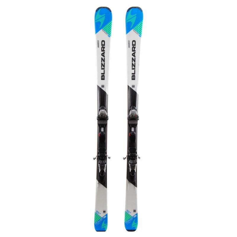 Ski occasion Blizzard Power x7 Qualité A + fixations