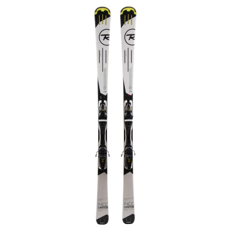 Ski occasion Rossignol Pursuit 400 LTD Qualité A + fixations