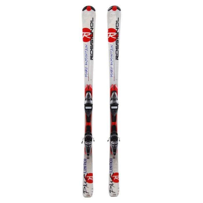 Ski occasion Rossignol Pure Mountain + fixations