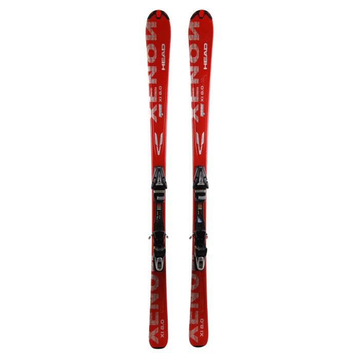 Ski occasion Head Xenon 8.0 + fixations