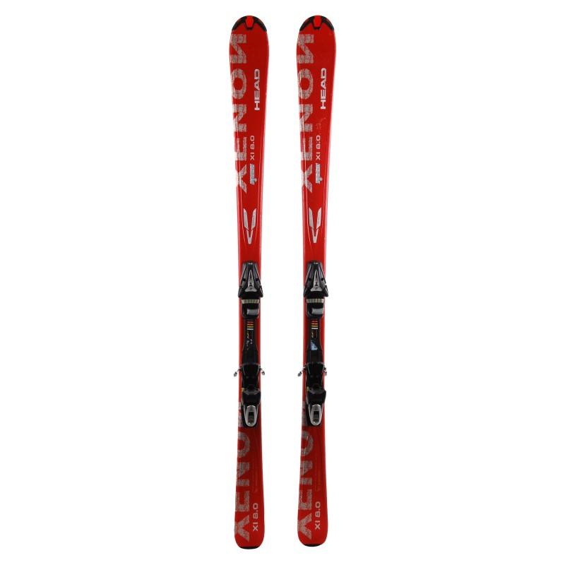 Ski occasion Head Xenon 8.0 Qualité A + fixations