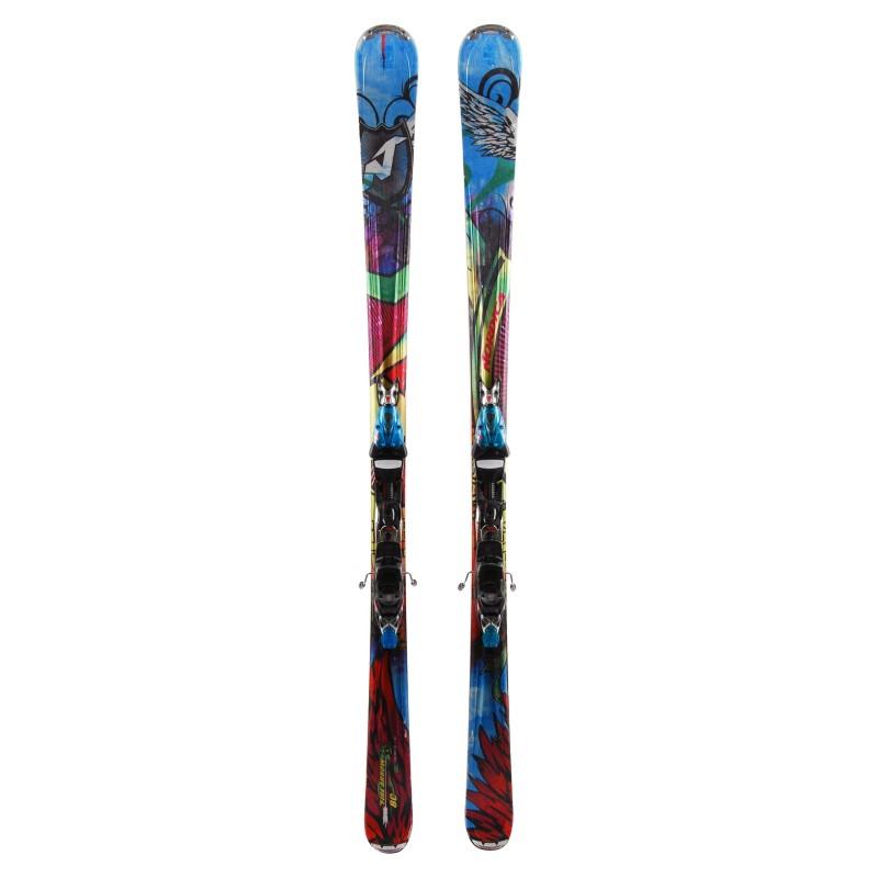 Esquí Nordica Fire Arrow 80 + Fijaciones