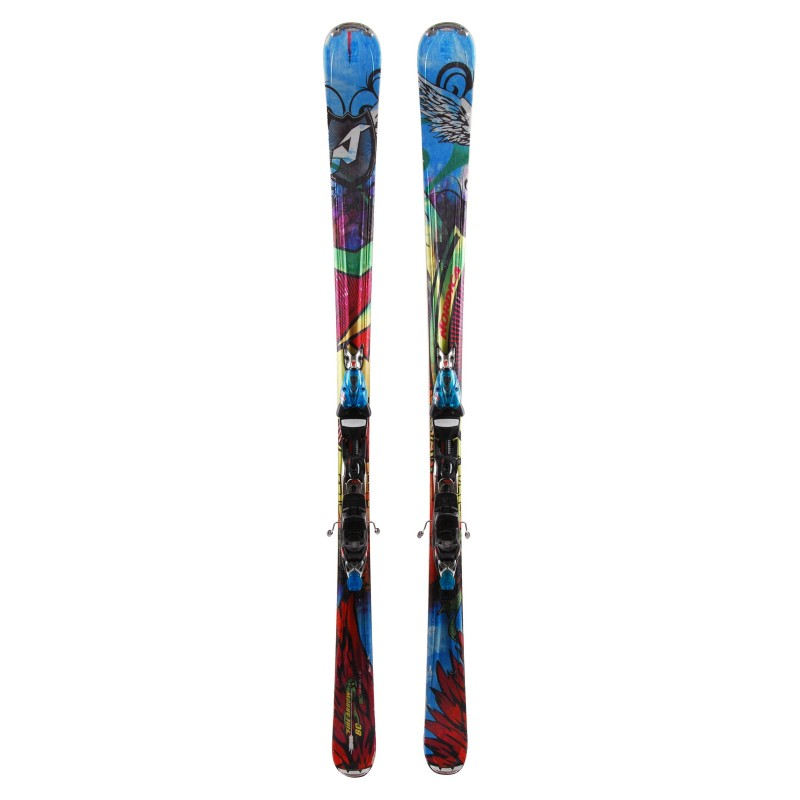 Ski occasion Nordica Fire Arrow 80 Qualité B + Fixations