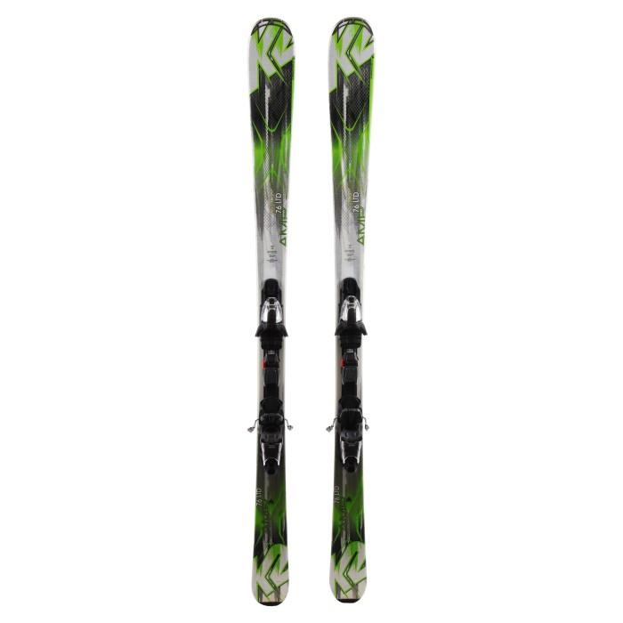 Ski occasion K2 Amp 76 LTD + fixations