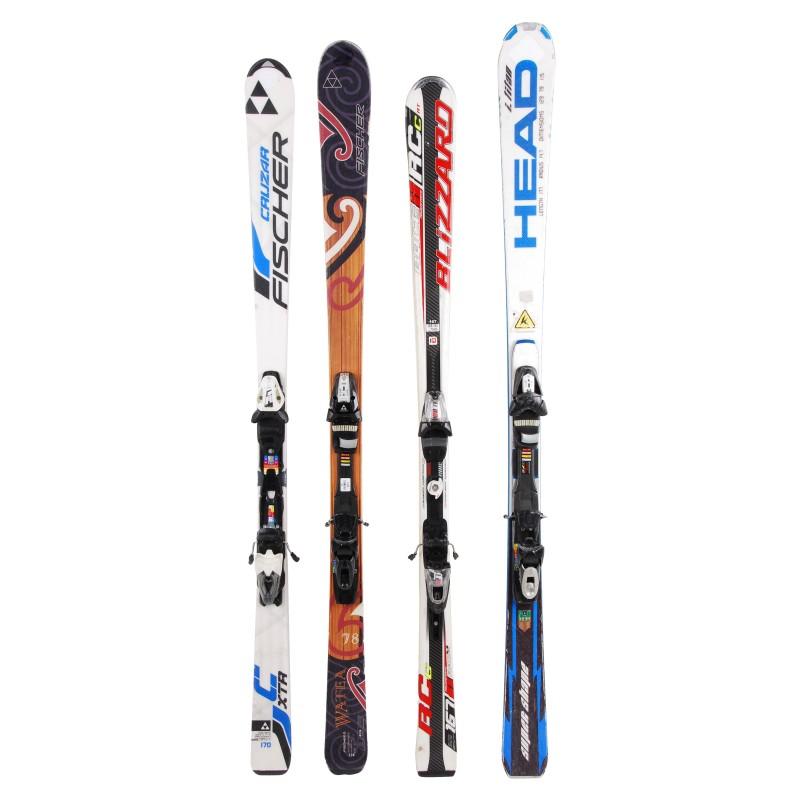 Ski occasion adulte tous modèles toutes marques à 29€ + Fixations