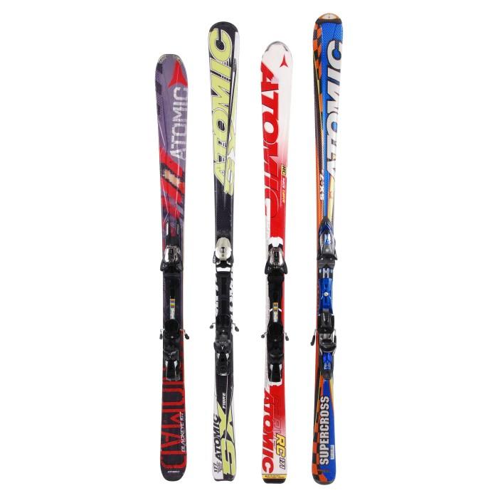 Oportunidad de esquí para adultos atómicos todos los modelos a 29 grados - Fijaciones
