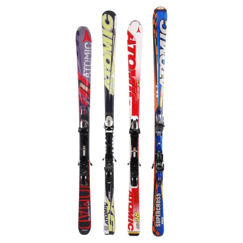 Ski occasion adulte Atomic tous modèles à 29€ + Fixations