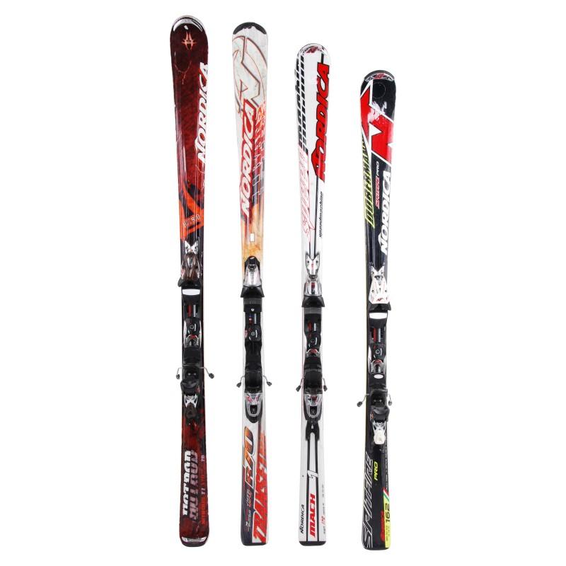 Ski occasion adulte Nordica tous modèles à 29€ + Fixations