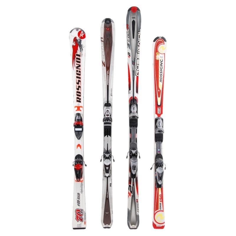 Ski occasion adulte rossignol tous modèles à 29€ + Fixations