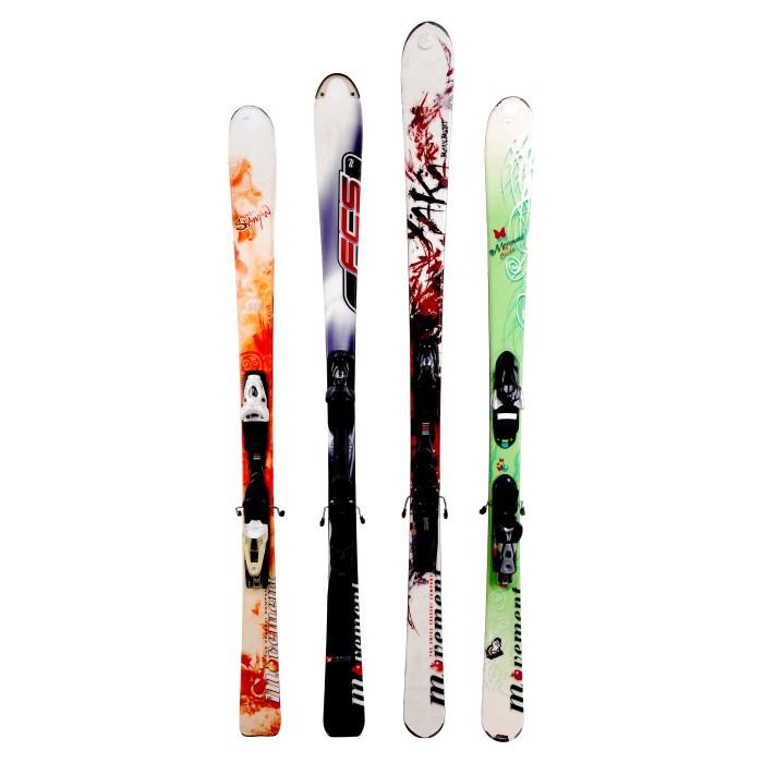 Ski Salomon X Flügel 400 Befestigung