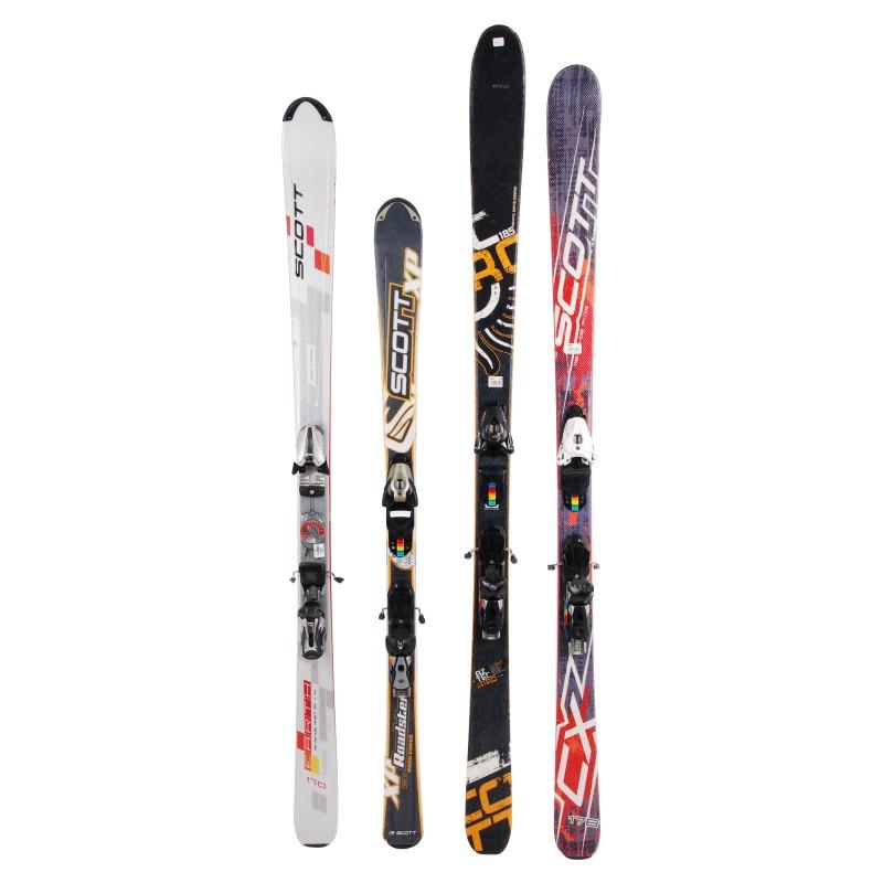 Ski occasion adulte Scott tous modèles à 29€ + Fixations