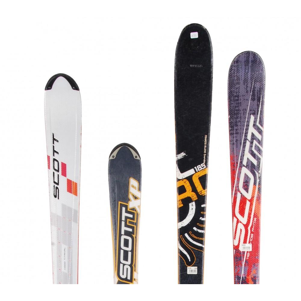 Ski-occasion-adulte-Scott-tous-modeles-a-29-Fixations miniature 6