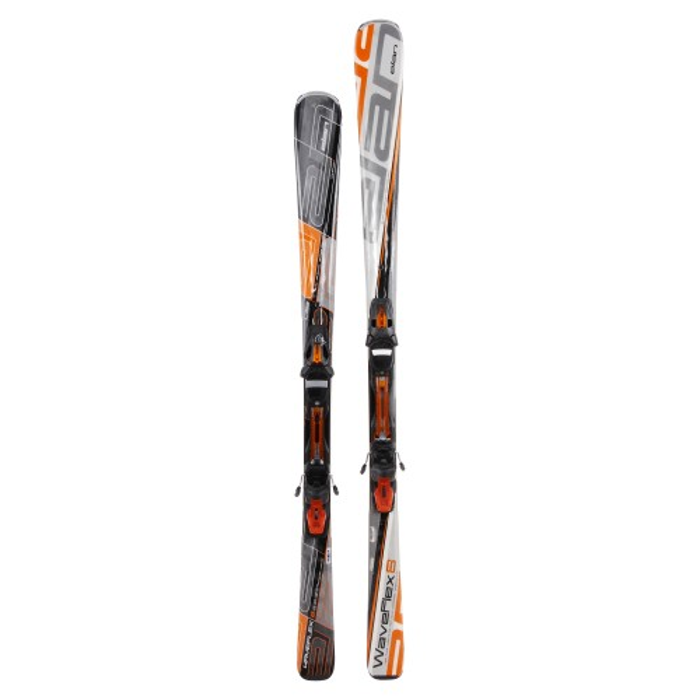 Ski adult eLAN alle Modelle bei 29 Grad - Fixationen