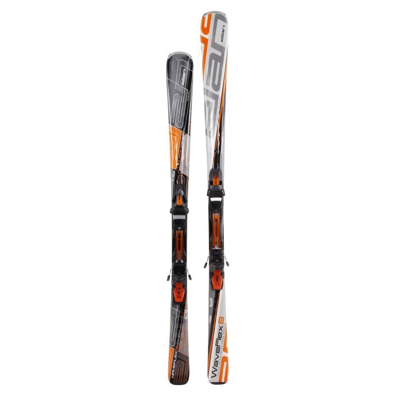 Ski verwendet Erwachsenen ELAN um 29 € + Bindungen