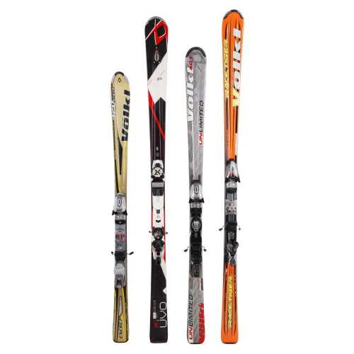 Ski adult occasion Volkl all models at 29 degrees - Fixations