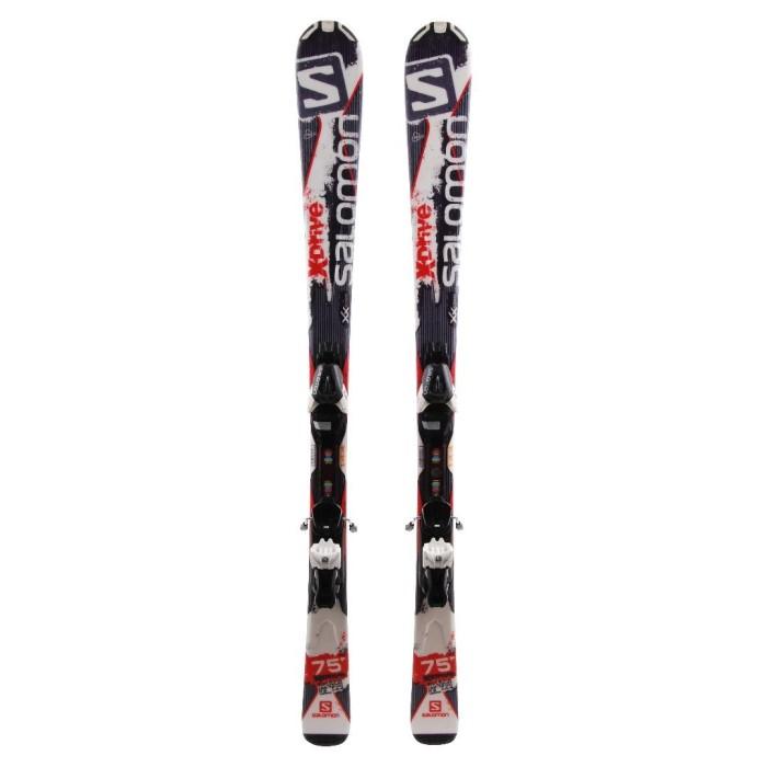 Ski Salomon X Drive 75 occasion + Fixations
