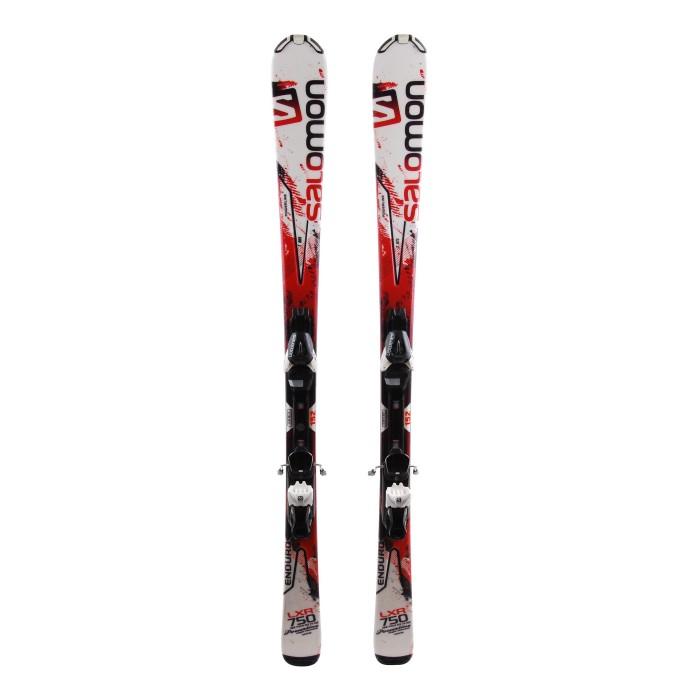 Ocasión de esquí Salomon Enduro LXR 750 - fijaciones