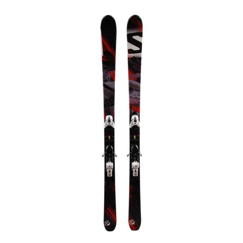 Ski occasion Salomon Q 90 qualité A + fixations