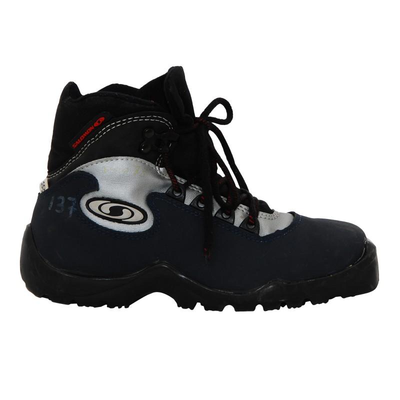 Chaussure ski fond occasion Salomon classic bleue Qualité A