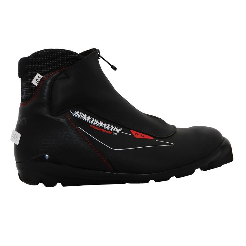 Chaussure ski de fond occasion Salomon R Touring noir