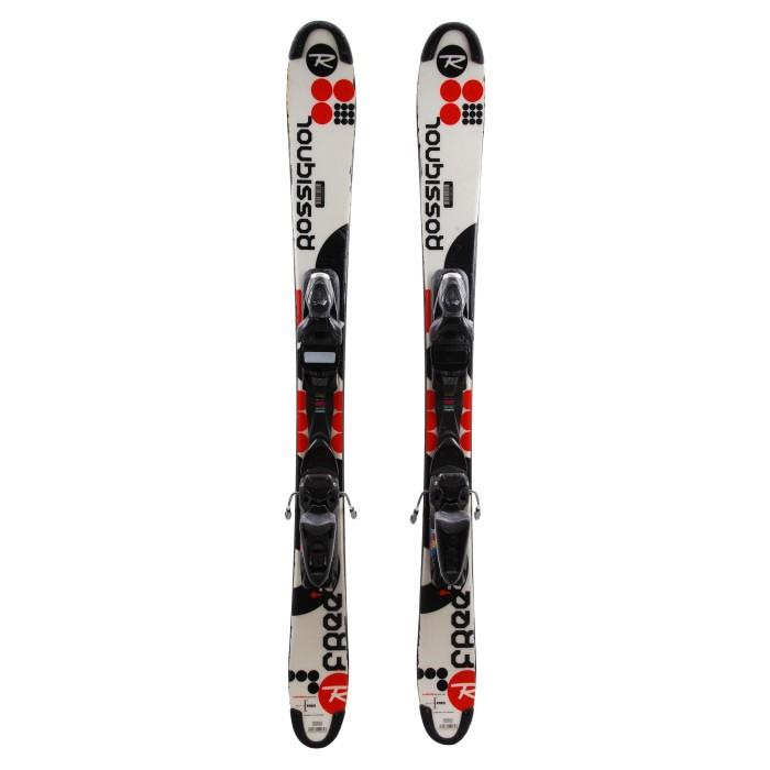 Mini esquí usado Rossignol Scratch Free ZB - fijaciones