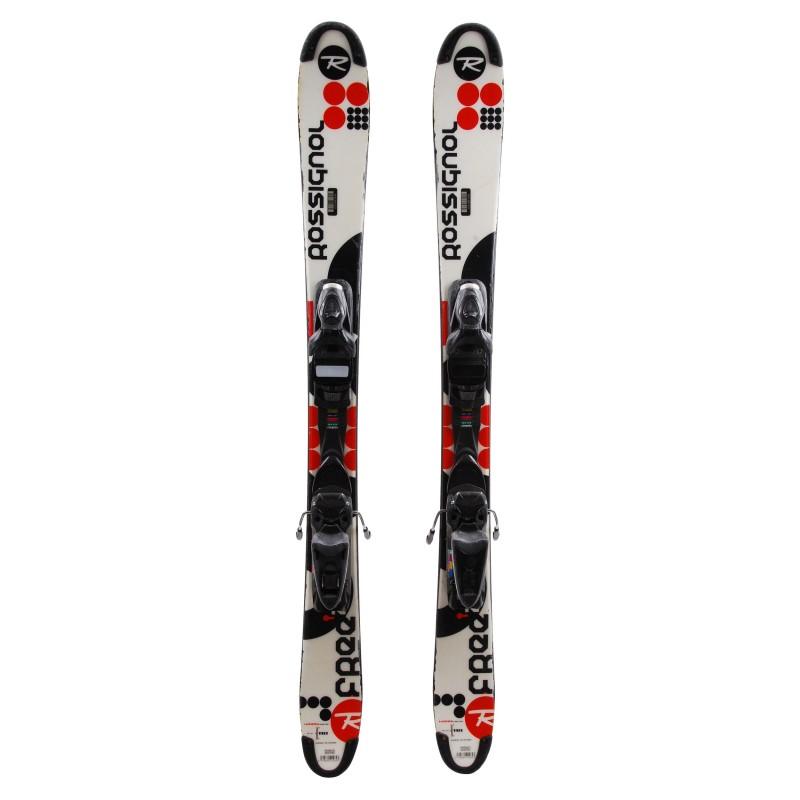 Mini gebraucht Ski Rossignol Scratch Free ZB - Bindungen