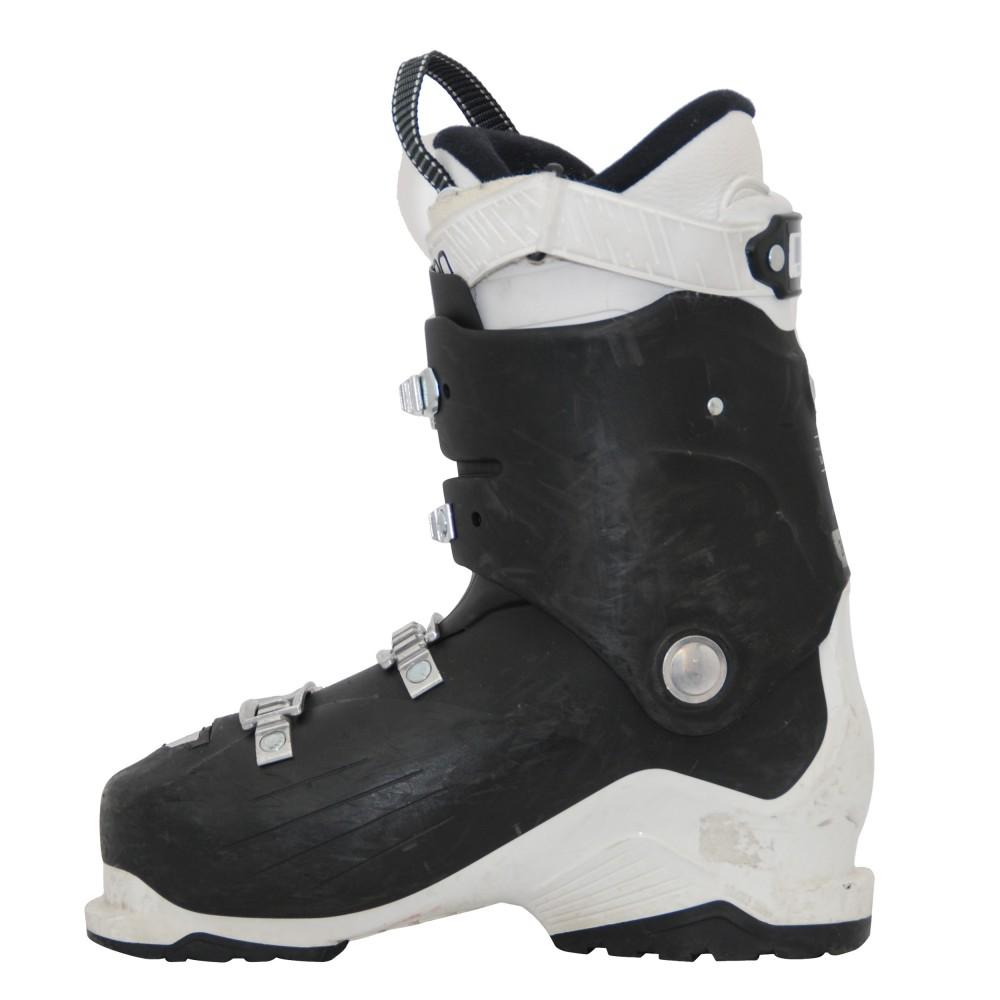 Détails sur Chaussures de ski occasion Salomon X access r60w noir blanc