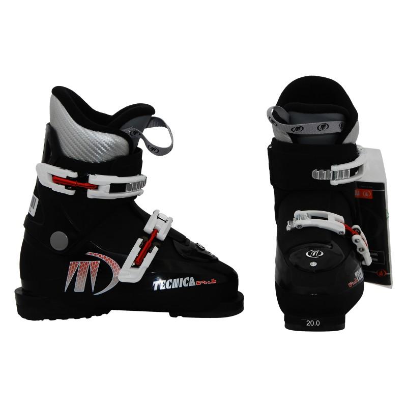 Junior Tecnica Junior Zapato de Esquí RJ RL negro