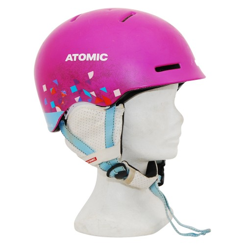 Casque occasion junior Atomic girly rose