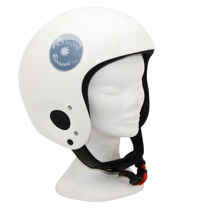 casque occasion Rock helmets blanc rond
