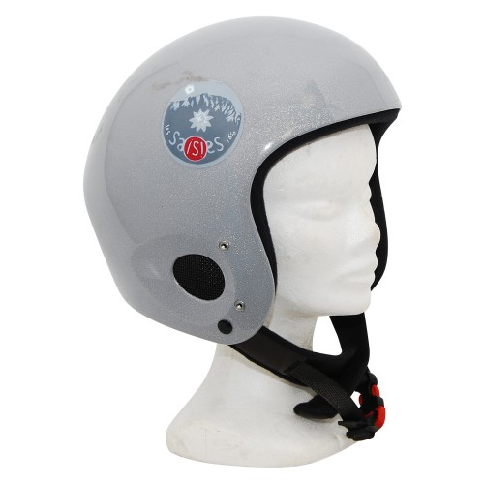 casque occasion Rock helmets gris rond
