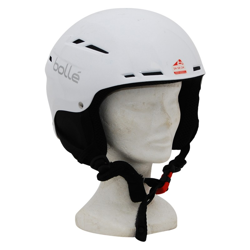 Casque ski occasion Bollé blanc cube