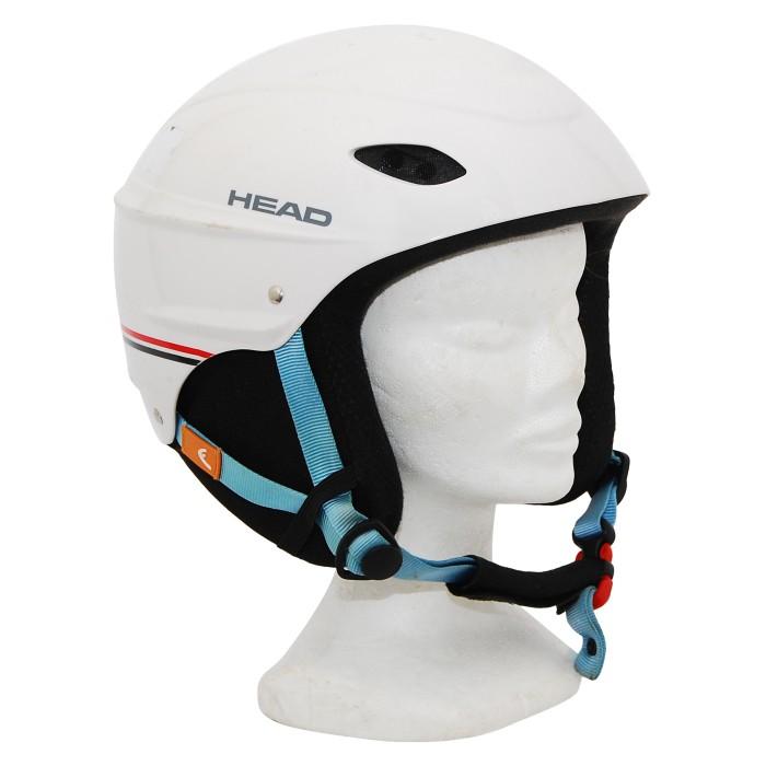 Casque ski occasion Head blanc crème liseret
