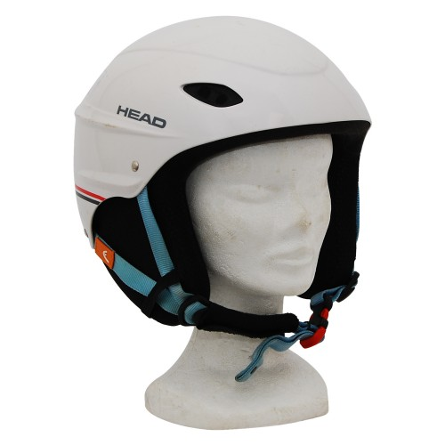 Casque ski occasion Head intersport Blanc liseret