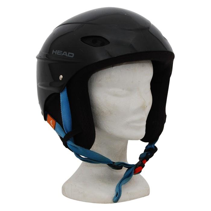 Kopf Skihelm Head intersport schwarz
