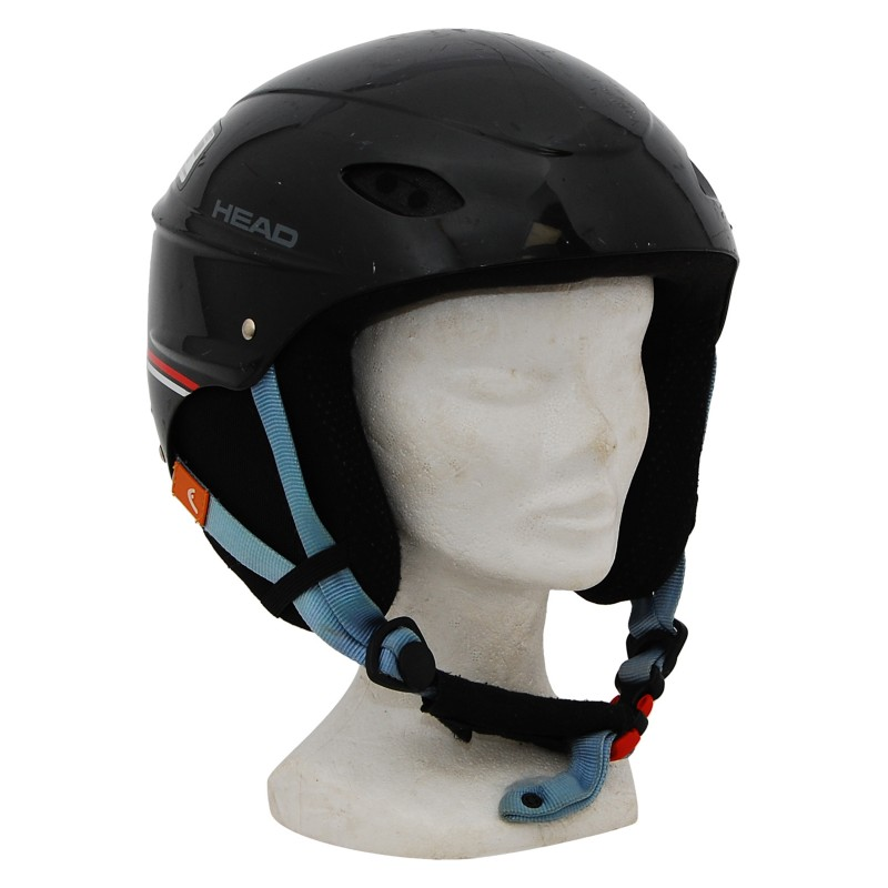 Casque ski occasion Head intersport noir liseret