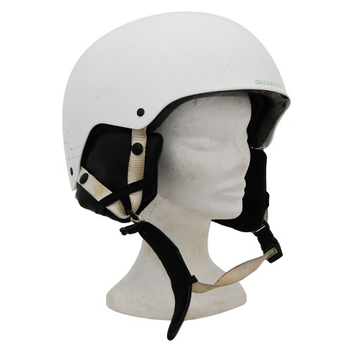 Casque ski occasion Salomon blanc