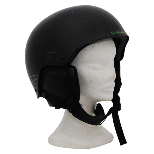 Casque ski occasion Salomon noir