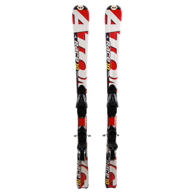 Ski occasion junior Atomic race 7/8/9/10 Qualité B + fixations