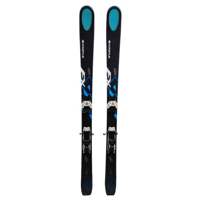Ski Kastle FX 95 HP used - bindings