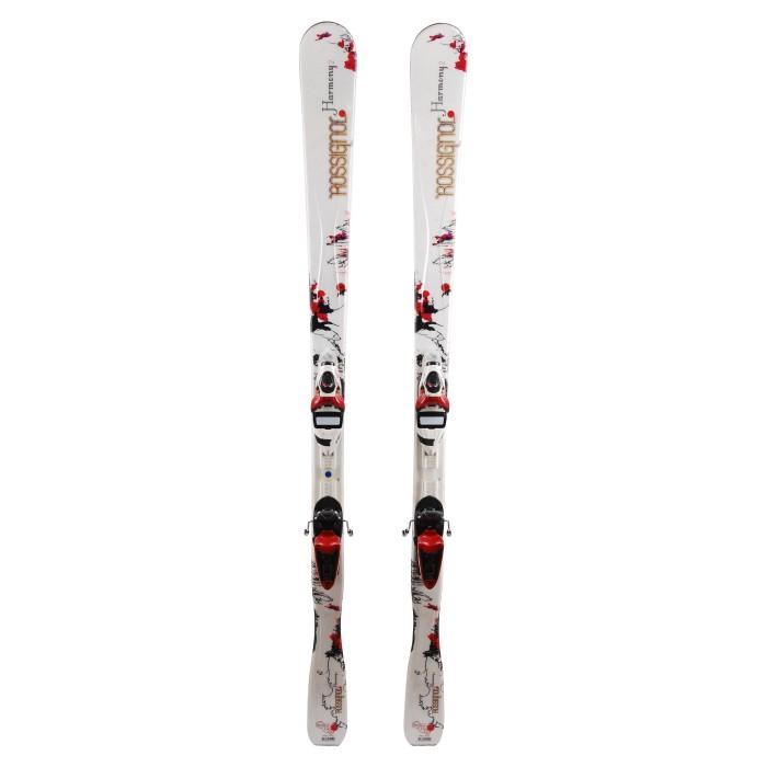 Ski occasion Rossignol Harmony 2 + fixations