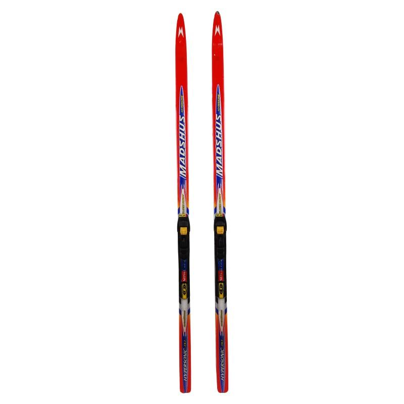 Ski de fond occasion Madshus hypersonic X3 Skate + fixation NNN skate