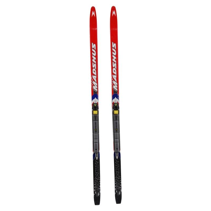 Ski de fond occasion Madshus superskate Junior qualité A + fixation